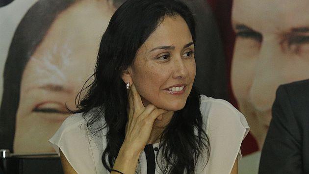 Nadine Heredia se niega a responder a la Comisión Lava Jato. (USI)