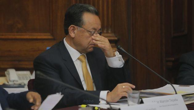 Contralor Alarcón asegura que no busca desestabilizar al gobierno. (Perú21)