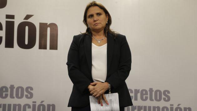 Marisol Pérez Tello sostiene que para otorgar un indulto tiene que haber arrepentimiento. (Atoq Ramón)