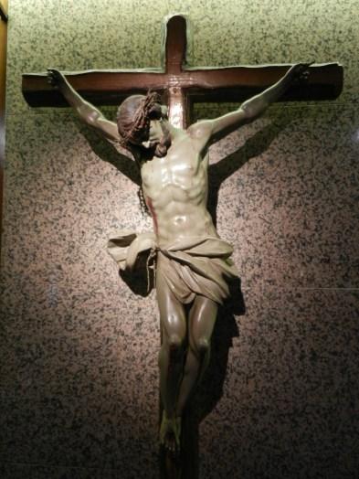 Cristo crucificado. Conjunto Calvario de la Capilla.