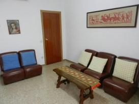 Sala de estar en planta