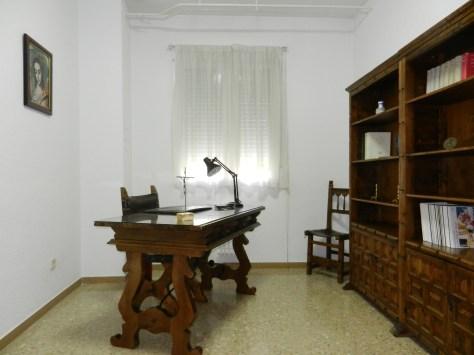 Despacho en habitación. Hay dos habitaciones con despacho propio.