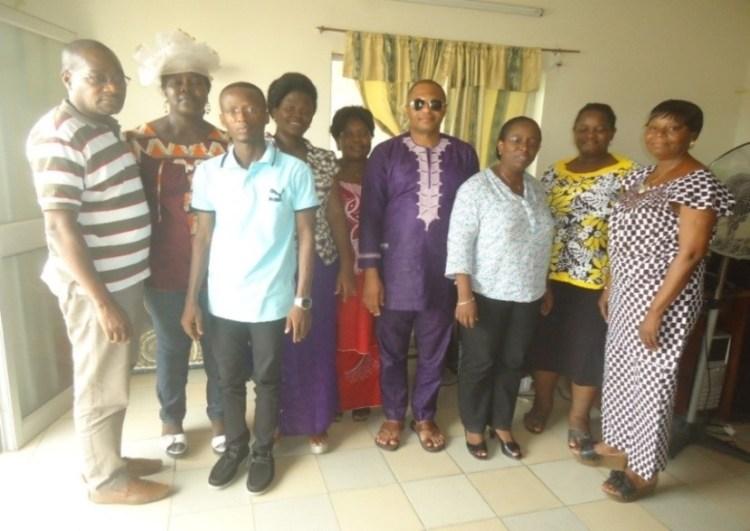 Photo de famille des participants