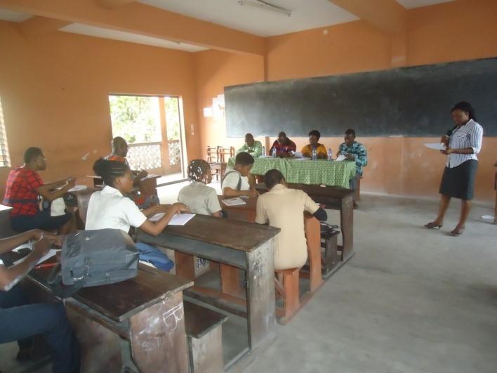 Lancement des activités au CEG DANTOKPA