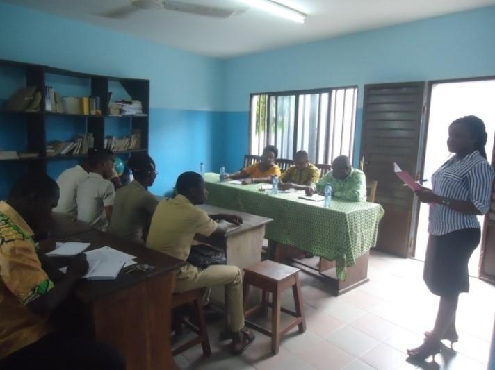 Lancement des activités au CEG DU LAC