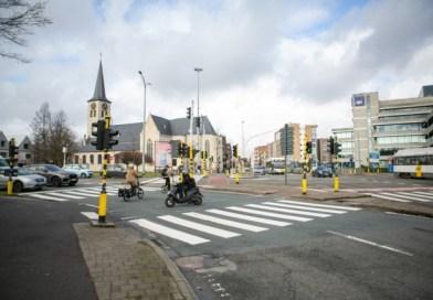Heraanleg kruispunt Grotesteenweg – Singel