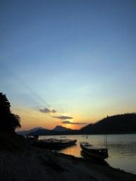 Sunset on the Mekong, Northern Laos