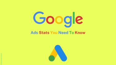Google logo with subheading: Ads Stats You Need To Know for Digital Marketing.