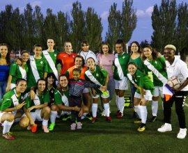 foto de equipo aficionado femenino