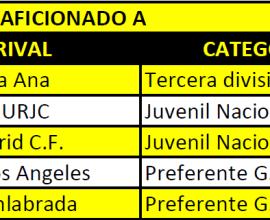 Pretemporada primer equipo 2018/2019