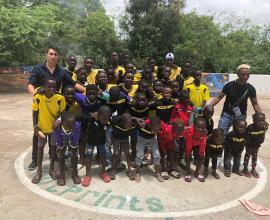 Donación en Senegal