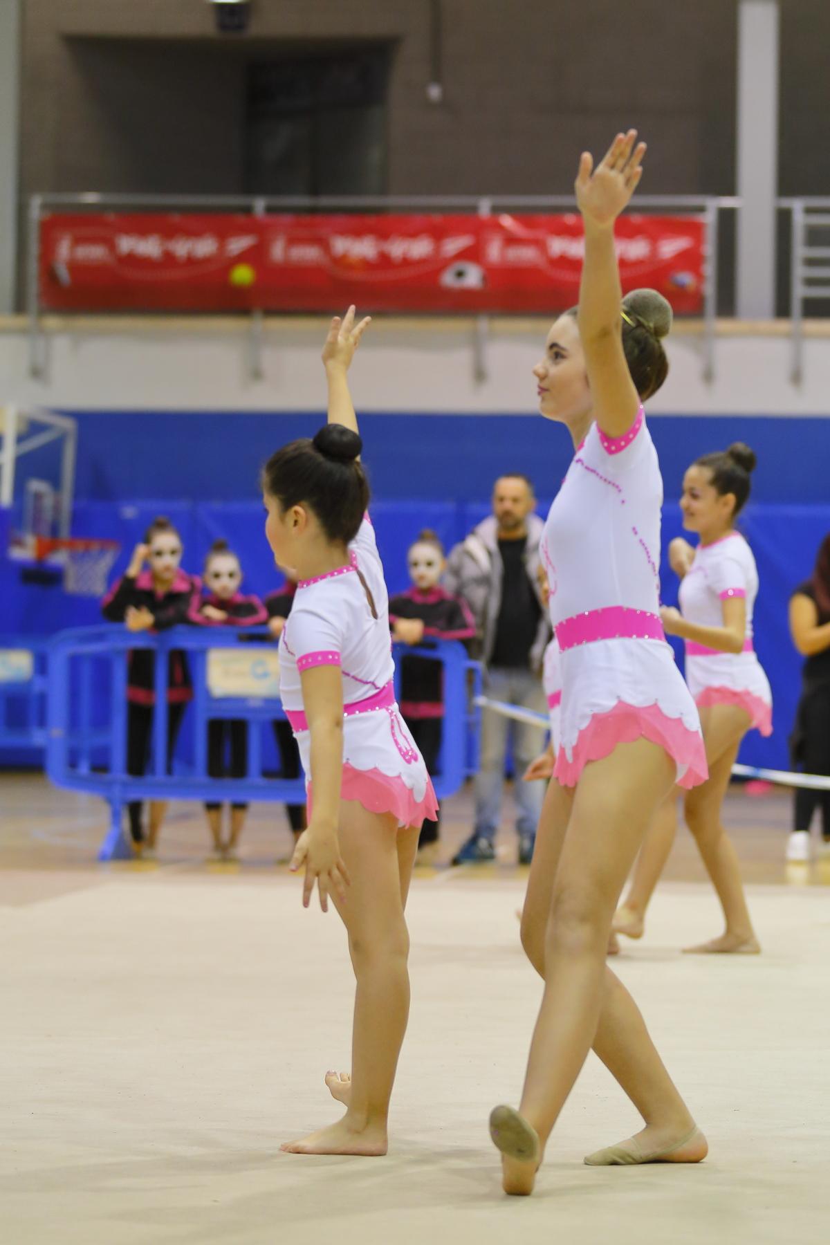 Escuela Deportiva Gimnasia Esttica de Grupo Rosala de Castro  Club de Gimnasia Villa Getafe
