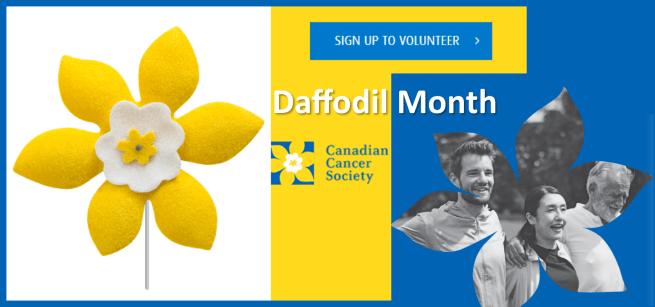 Daffodil Month Volunteers