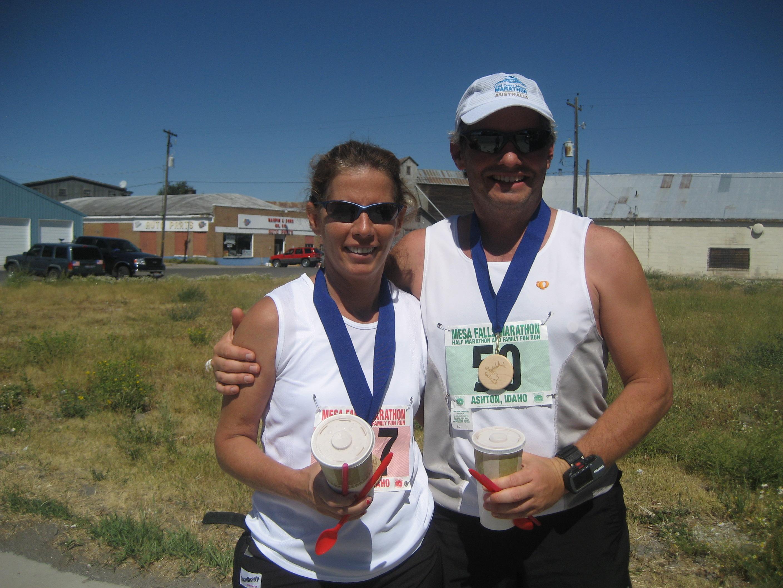 Idaho Mesa Falls Marathon and Half Marathon August 23rd