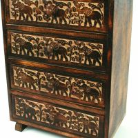 Jewellery Boxes and Wooden Cabinets