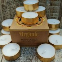 Organic Scented Tea Lights