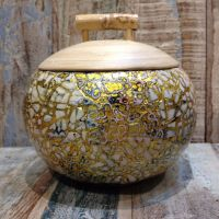 Vietnamese Spun Bamboo Bowls