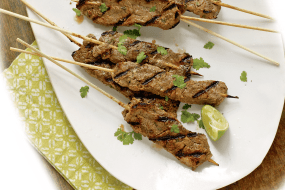 Healthy Summer Recipes: Spicy Beef Satays