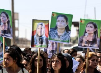 Mardi 23 juin, un drone de combat de l'armée turque a délibérément visé et tué trois femmes kurdes, dans le village de Helincê, à Kobanê