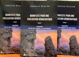"""""""Civilisation : L'ère des dieux masqués et des rois déguisés"""" d'Öcalan est le premier volume du """"Manifeste pour une civilisation démocratique"""