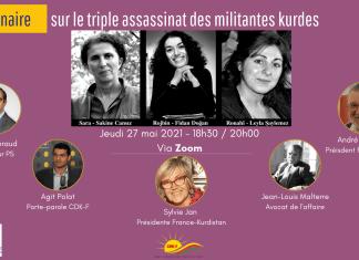 Les associations France-Kurdistan, Amitiés Kurdes de Bretagne et le Conseil démocratique kurde en France vous invitent à participer à une importante conférence Zoom sur le thème :