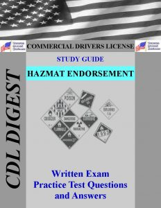 CDL Study Guide Hazmat Endorsement
