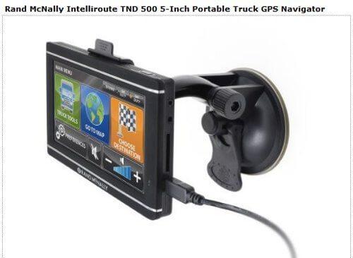 Intelliroute 500 GPS from Rand McNally