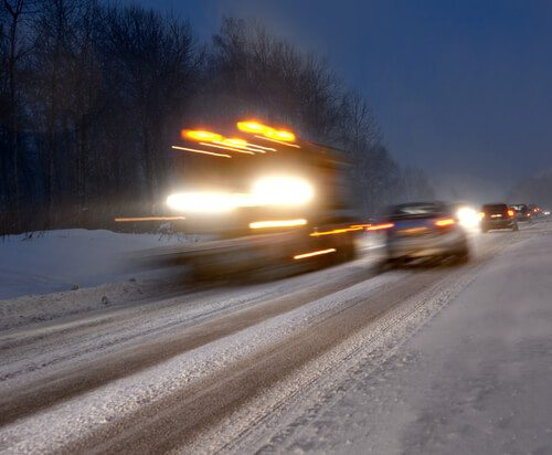 Winter Driving Tips from a new Trucker