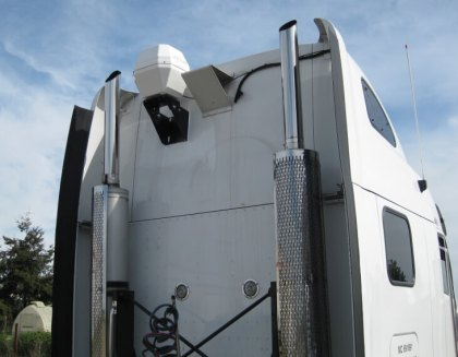 Truck Driver Satellite TV Mount