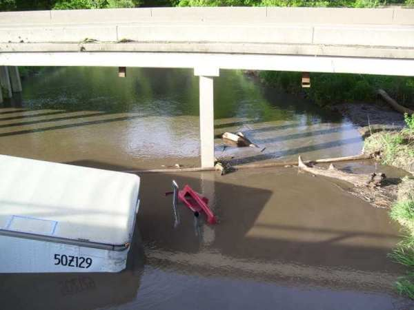 Truck Driver Rescued From Flood Waters In Iowa