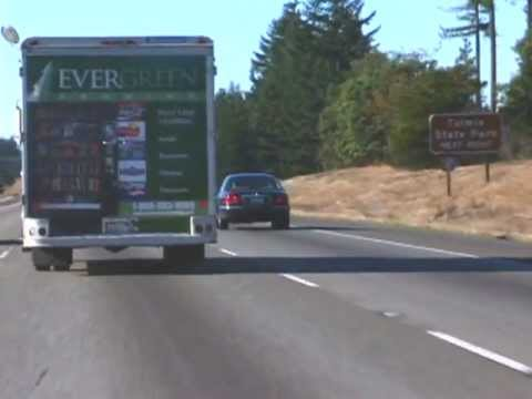 Washington Troopers Team Up With Truckers To Catch Aggressive Drivers