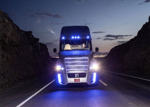 Closer Look: Freightliner Inspiration Truck