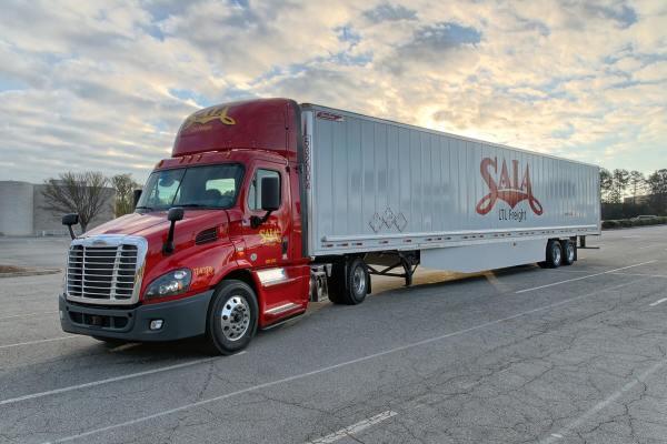 Saia Motor Freight Trucks