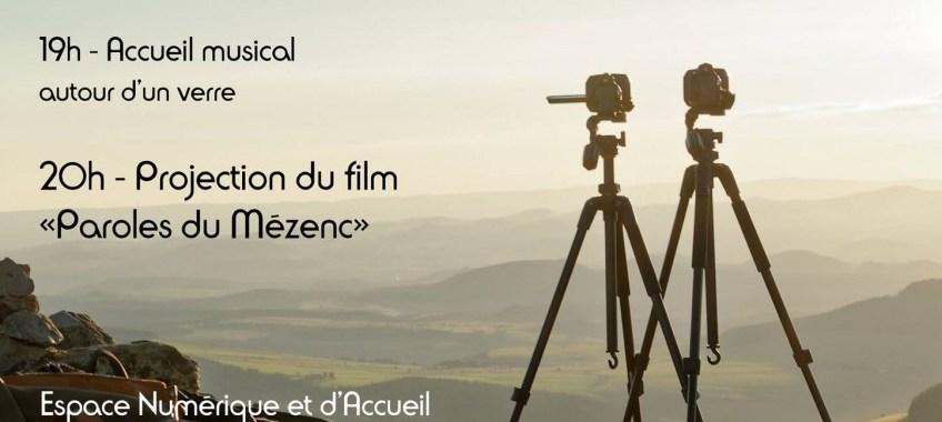"""Projection du film """"Paroles du Mézenc"""" – Vendredi 3 Novembre Freycenet La Tour"""