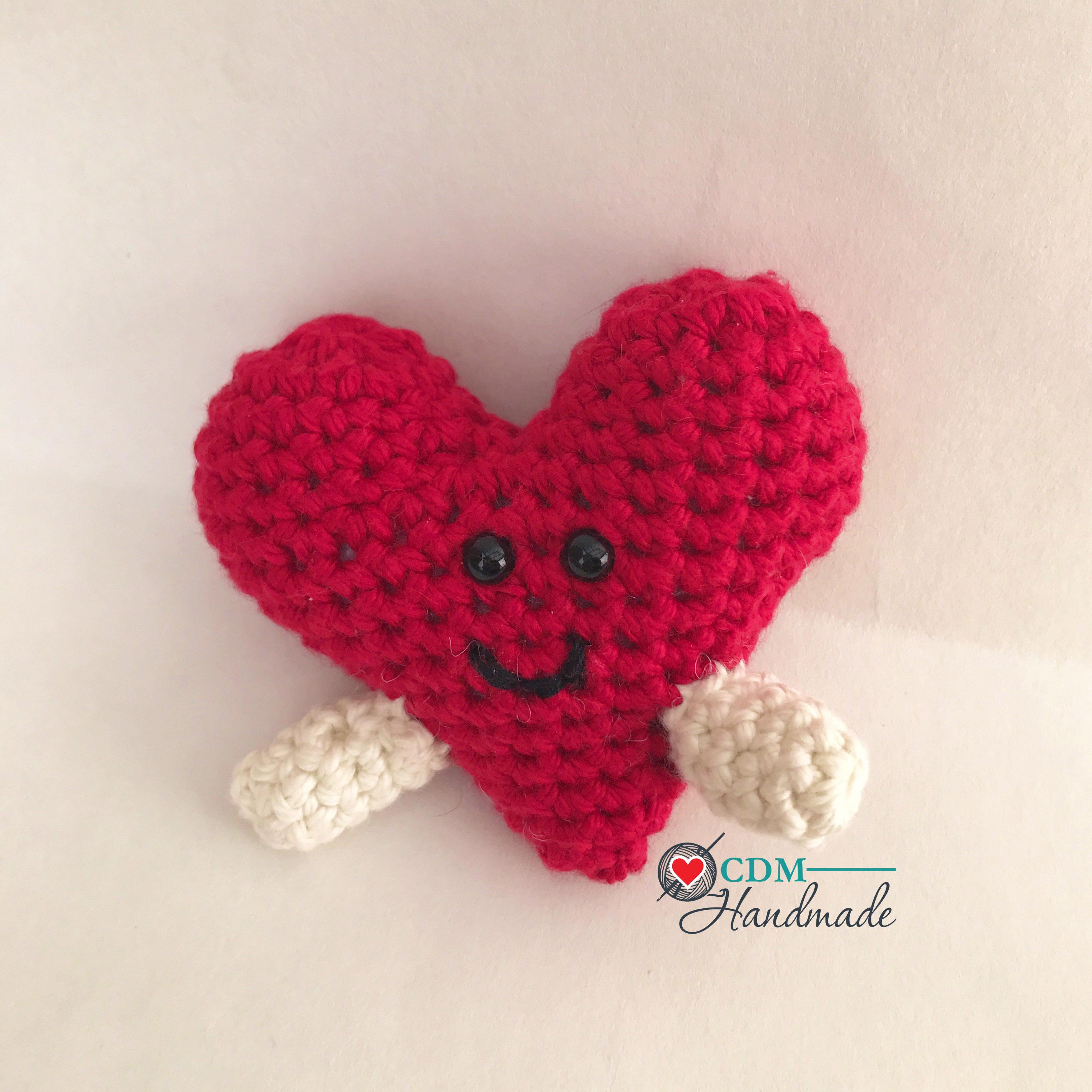 Heart Full Of Love A Valentines Day Free Crochet Pattern Cdm