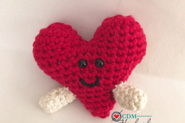 Heart Full Of Love A Valentines Day Free Crochet Pattern Cdm