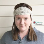 Interlocking Knit Look Headband