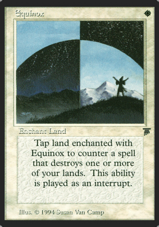 Equinox in Legends