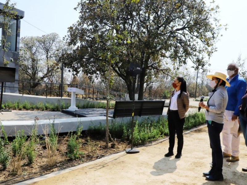 Entrega Gobierno de la Ciudad de Mexico segunda etapa de rehabilitacion del Parque Ecologico de la Ciudad de