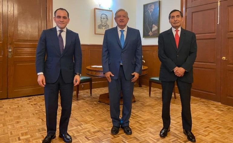 Lopez Obrador informa cambios en su gabinete Rogelio Ramirez de la O llega a la SHCP y Arturo Herrera se postula como gobernador del