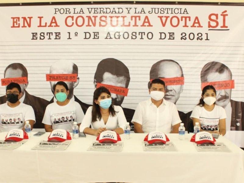 Consulta Popular avanza en Yucatan a traves de la organizacion ciudadana a pesar del deficiente papel del INE Alejandra Novelo