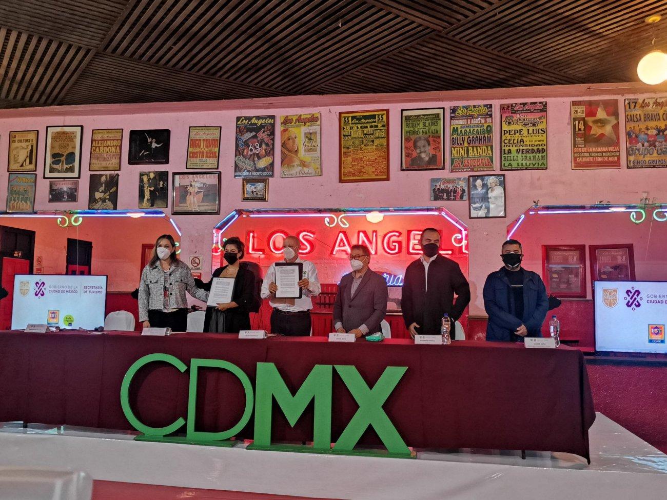 Firma Convenio Turismo Con Empresa Mooi Collective Para Atraer Turismo Musical en CDMX press