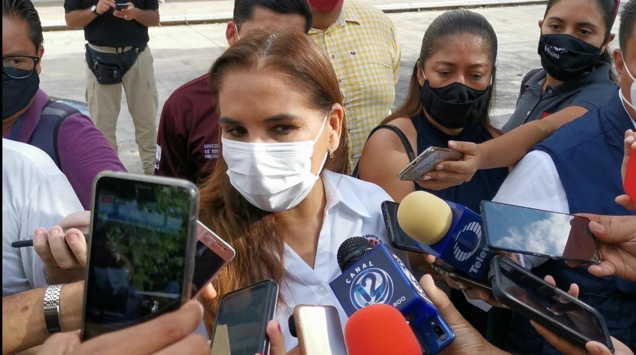 Mara Lezama Analiza que Red Ambiental continue prestando el servicio de recoja de basura en Cancun