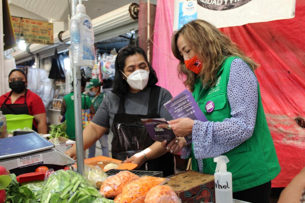 Recorre Red De Mujeres Para El Bienestar En Alerta Por Ti 160 Colonias De La Ciudad De Mexico Para Detectar Casos De Violencia