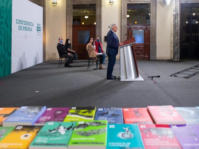 Con coleccion ′21 para el 21′ Gobierno de la Cuarta Transformacion fomenta habito de la lectura