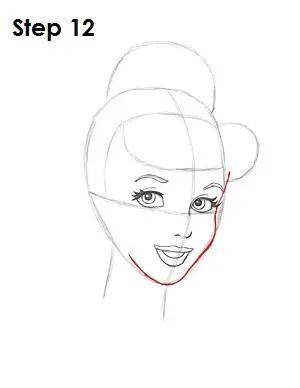 How To Draw Cinderella : cinderella, Cinderella