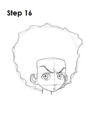 How To Draw Huey Freeman : freeman