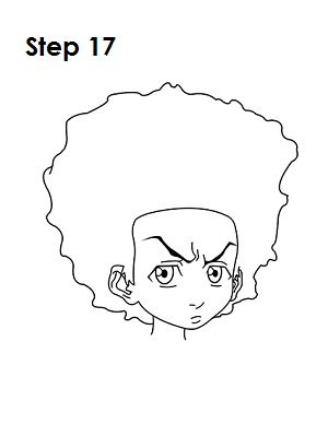How to Draw Huey Freeman - Easy Drawing Tutorials