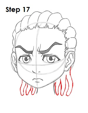 How To Draw Cornrows : cornrows, Riley, Freeman