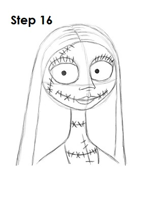 Easy Jack And Sally Drawings : sally, drawings, EasyDrawingTutorials.com, Favorite, Cartoons, VIDEOS, Step-by-Step, Pictures